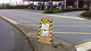 Bicester fuel station