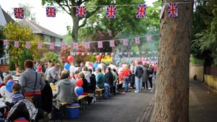 Britons across the country celebrated the Diamond Jubilee with street parties