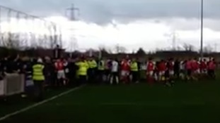 Didcot Town issue statement after match abandoned due to crowd trouble