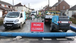 Thousands without water after main bursts in Sussex town