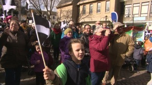 Cornwall celebrates St Piran's Day