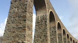 £3.5 million upgrade to 150-year-old Cynghordy Railway Viaduct finished