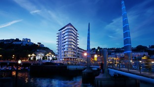 Torquay transformed: Luxury harbour-side hotel gets go-ahead