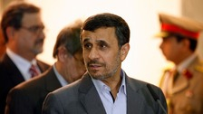 Mahmoud Ahmadinejad may be angling for a return to frontline politics