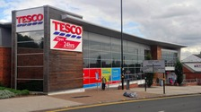 The Tesco in Coleshill Road was evacuated