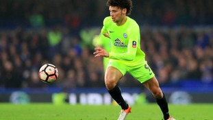 Lee Angol will spend the rest of the season at Lincoln City.