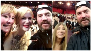Couple gatecrashed the Oscars and got selfies with stars