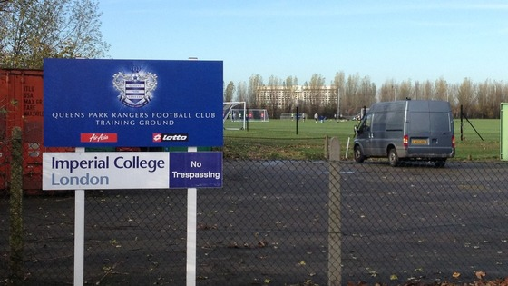 QPR training ground.