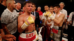 Boxer Lee Haskins raises money for former colleague with cancer