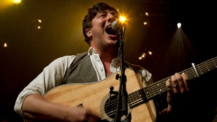Marcus Mumford of Mumford and Sons. Music fans have been turned away from their concert after being sold fake tickets.