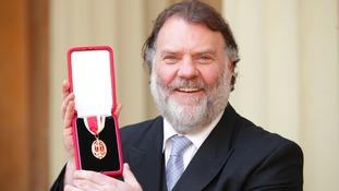 Arise Sir Bryn! Opera star knighted at a Buckingham Palace