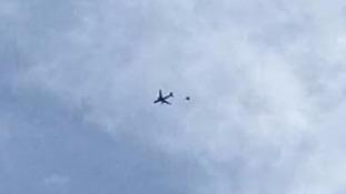 Several inbound flights to Birmingham were reportedly diverted