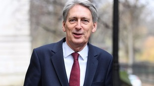 Chancellor of the Exchequer Philip Hammond will deliver the Budget