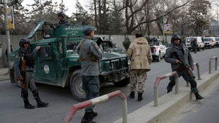 At least 30 dead as gunmen dressed as doctors attack military hospital in Kabul