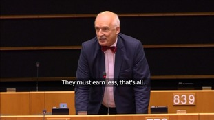 Polish MEP: Women earn less than men 'because they are weaker, smaller and less intelligent'