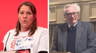 Anna Turley and Lord Heseltine
