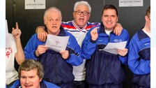 Kevin Keegan records new song in Gateshead