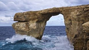 Malta landmark used in Game of Thrones collapses