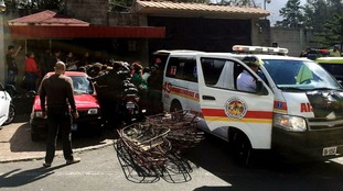 Fire at Guatemala children's shelter kills several and injures dozens