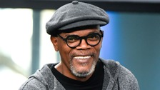 Samuel L Jackson pictured in New York on Monday
