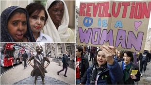 In pictures: International Women's Day around the world
