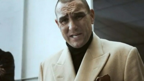 Vinnie Jones in British Heart Foundation CPR advert.