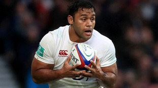 England's rampaging number eight Billy Vunipola has recovered from knee ligament damage.