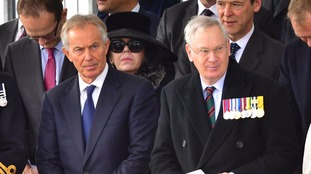 Tony Blair (left) and the Duke of Gloucester