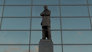 Statue of Sir Alex Ferguson