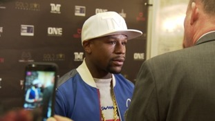 An interview with Mayweather on Bristol, McGregor & Dean Francis