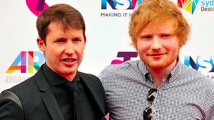 James Blunt: Ed Sheeran wasn't cut by Princess Beatrice wielding a sword - we 'made it up'