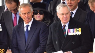 Iraq service: Why was Blair given seat ahead of bereaved families?