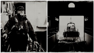Are these photos from a bygone era? Striking captures of RNLI stations