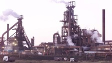 Tata's steelworks at Port Talbot, Wales where most of the job losses will occur.