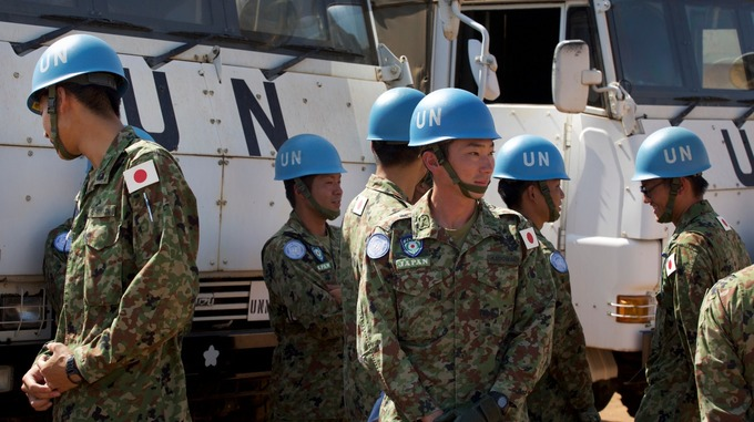 Japan ends peacekeeping mission in war ravaged south sudan as it japan ends peacekeeping mission in war ravaged south sudan as it faces famine publicscrutiny Image collections