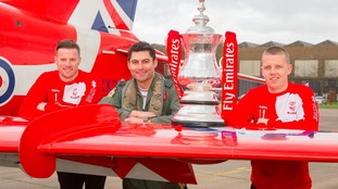 Soaraway Lincoln City get ready for FA Cup take-off at Red Arrows