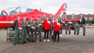 Soaraway Lincoln City visit Red Arrows