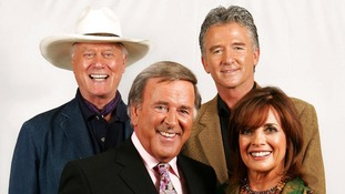 Three longest serving cast members of Dallas