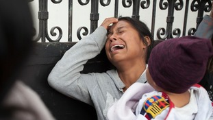 Children's home fire in Guatemala started in tiny room girls had been locked in after riot