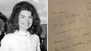Jackie Kennedy's 'tender' letters to a Welsh baron after her husband's assassination