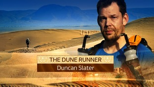 Duncan Slater is preparing to take on the 'toughest race on Earth'.