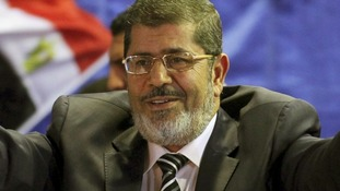 The Egyptian President Mohammed Mursi