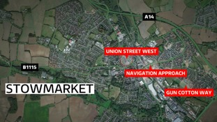 Man arrested following reports of a gun being fired at public in Stowmarket