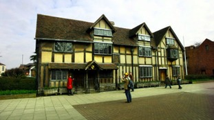 William Shakespeare's birthplace in Stratford-upon- Avon