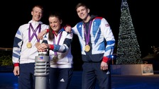Olympic heros in York