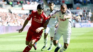 Laudrup unsure on Williams and Suarez handshake
