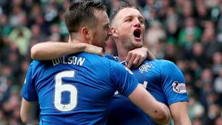 Report: Hill strikes late to earn Rangers point at Celtic