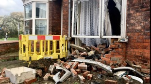 Car crashes into front of house in Beverley
