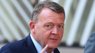Danish Prime Minister Lars Loekke Rasmussen.