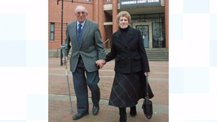 Kenneth Hugill with his wife Sheila outside Hull Crown Court.
